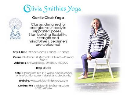 Chair Yoga Olivia Smithies