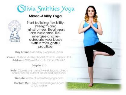 Hatha Yoga Olivia Smithies